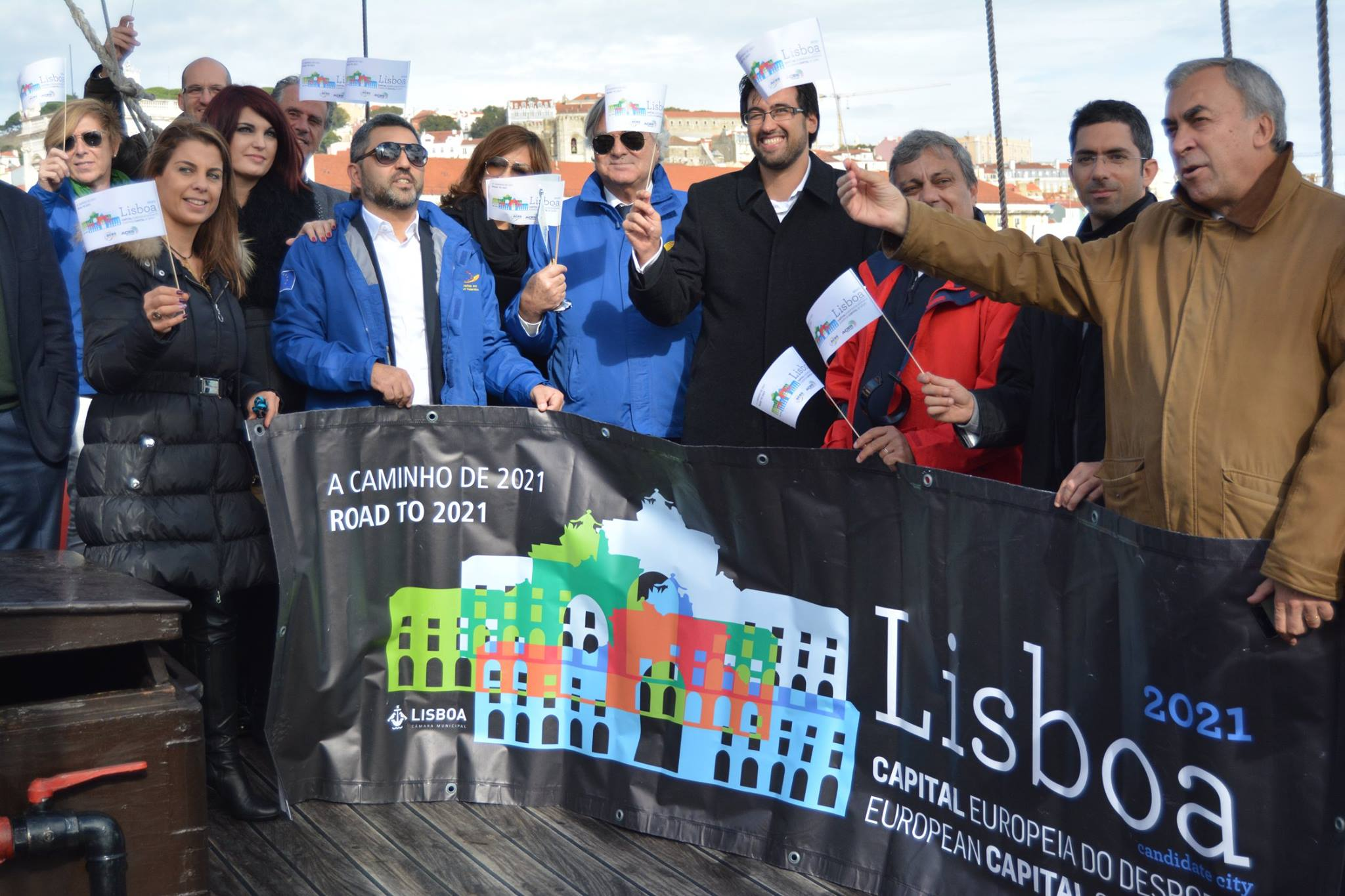 Lisboa a caminho de 2021,candidata a Capital Europeia do Desporto.